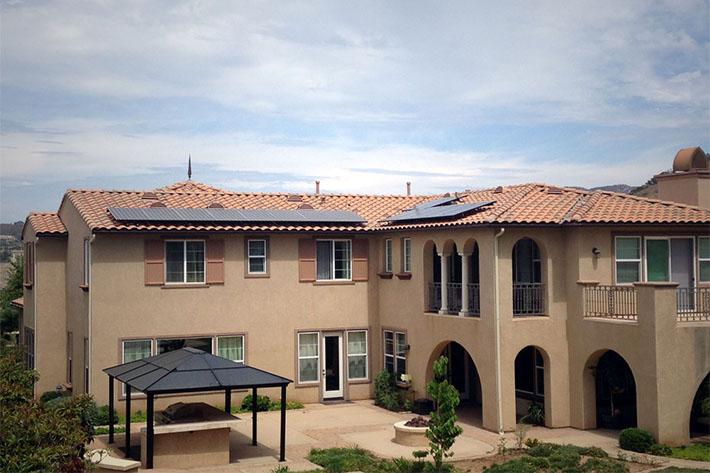 solar installation san diego solar panels on a mansion