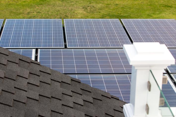 San Diego Solar Panels on roof