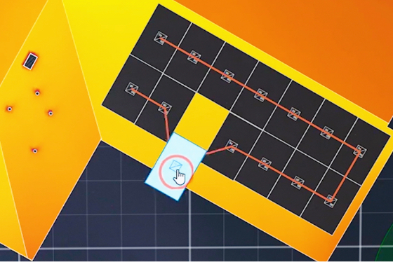 Solar process