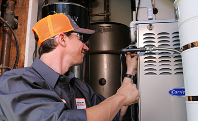 HVAC servicing
