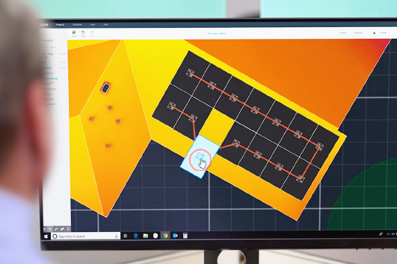 Solar Simulator Computer App