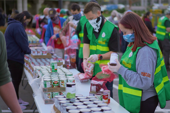 San Diego Foodbank helping others
