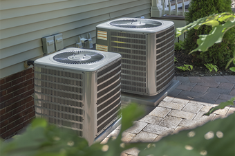 Condensers of HVAC system