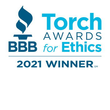 BBB Torch Award Winner Logo 2021
